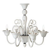Calais Chandelier - White