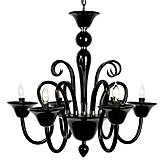 Calais Chandelier - Black