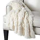 Ludlow Throw - Winter White