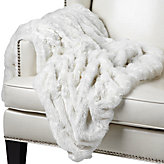 Lazo Throw - Winter White