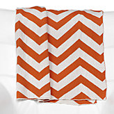 Chevron Throw - Orange