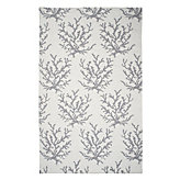 Sea Coral Dhurrie Rug - Steel