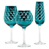 Montecito Stemware - Sets of 4 - Aquamarine
