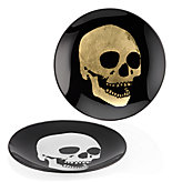 Morton Skull Appetizer Plate - Sets of 4