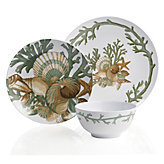 Del Mar Dinnerware - Sets of 4 - Sea Mist