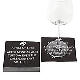 WTF Calendar Beverage Napkin