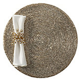 Metallic Studded Placemat - Set of 4