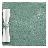Beaded Placemat - Set of 4 - Seafoam