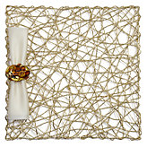 Nest Placemat - Set of 4 - Gold