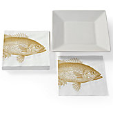 Fish Lunch Napkins