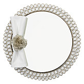 Bling Mirrored Placemat - Set of 4 - Clear