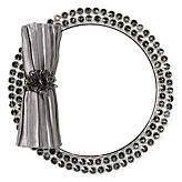 Bling Mirrored Placemat - Set of 4 - Graphite