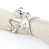 Octopus Napkin Ring - Set of 4 - Silver