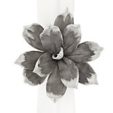 Magnolia Napkin Ring - Set of 4 - Grey