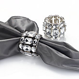 Brilliant Napkin Ring - Set of 4 - Clear