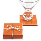 Gelato Coaster Set - Orange