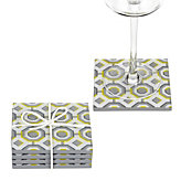 Perspective Coaster Set - Lemon