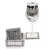 Everglades Coaster Set - Silver