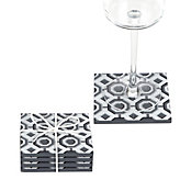 Perspective Coaster Set - Charcoal