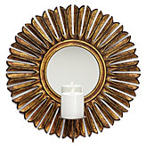 Sunburst Sconce - Gold
