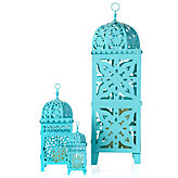 Casablanca Lanterns - Aquamarine