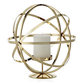 Atlas Pillar Holder - Gold