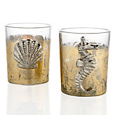 Seahorse And Scallop Votive