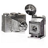 Antique Silver Cameras