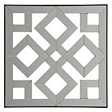Fretwork Mirrored Plaque #2