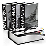 New York & Paris Destination Boxes - Set of 4