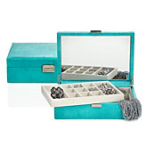 Largo Jewelry Box - Aquamarine
