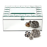 Deco Mirror Jewelry Box