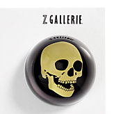 Skull Paperweight - Gold