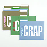 Crap Folders - Set of 6