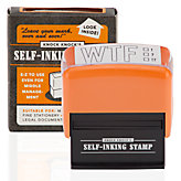 WTF Self Inking Stamp