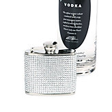 Crystal Pave Flask