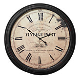 Vintage Port Wall Clock