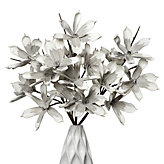 Magnolia Stem - Set of 3 - Grey