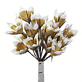 Magnolia Stem - Set of 3 - Gold