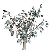 Silver Dollar Branch - Set of 3 - Venetian Blue