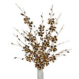 Large Mirror Flower - Set of 3 - Gold