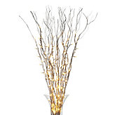 Lighted Branches - Silver