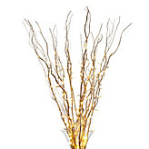 Lighted Branches - Gold