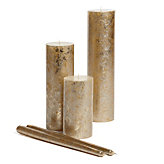 Mercury Candle Collection - Gold