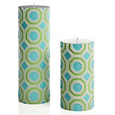 Perspective Candle - Aquamarine/Mint