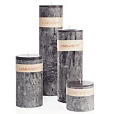 Timber Candles - Grey