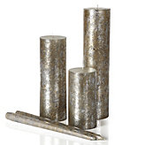 Mercury Candle Collection - Silver