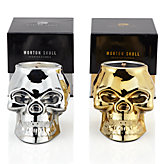 Morton Skull Candle