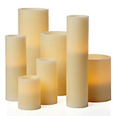 Flameless Candles - Ivory