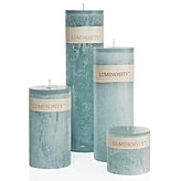 Timber Candles - Slate Blue